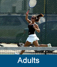 Learn about Charleston Area Tennis Association's Adult programs and opportunities